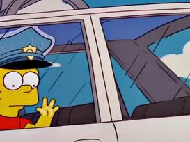 Hey, somebody's stealing my car! What?