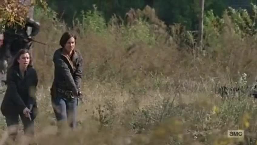 That widow is alive, guns a-blazin'!