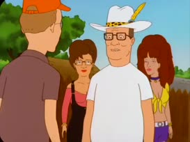 """Quiz for What line is next for """"King of the Hill """"?"""