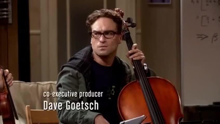 You mean my cello.