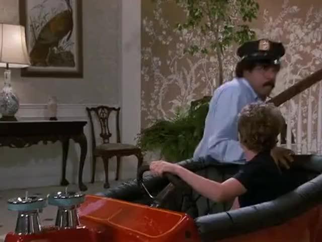 Chop, chop! Give him a ticket!