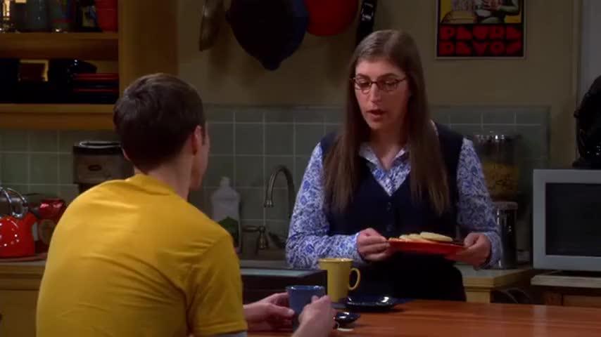 I'm feeling a little backed into a corner, Sheldon.
