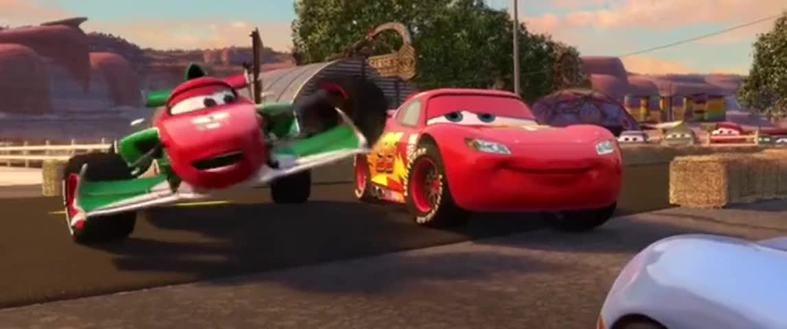 Yarn   See you at the finish line, Mc... What is that? ~ Cars 2 ...