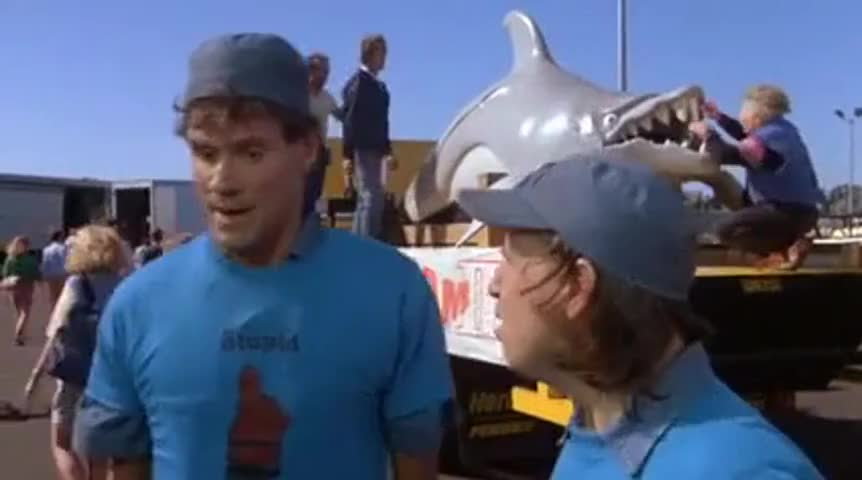 About the giant dolphin with rabies that terrorizes a small New England town.