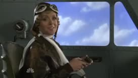 This is Amelia Earhart. I'm almost across the Pacific...
