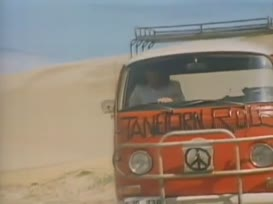 Travelling in a fried-out Kombi