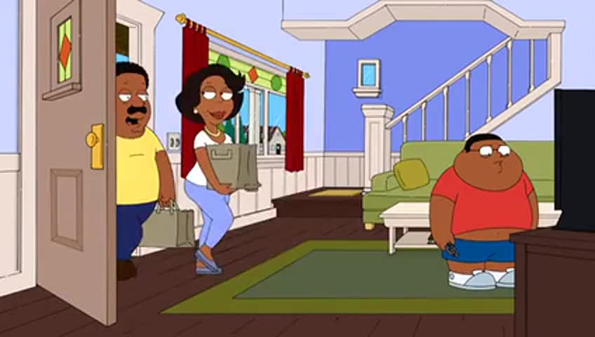 Clip image for 'Hey, what are you watching, The Cleveland Show?