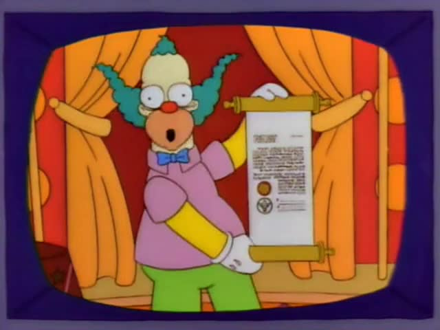 that Poochie will never, ever, ever return!