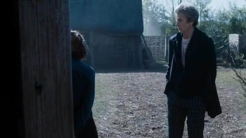 no TARDIS, no sonic.
