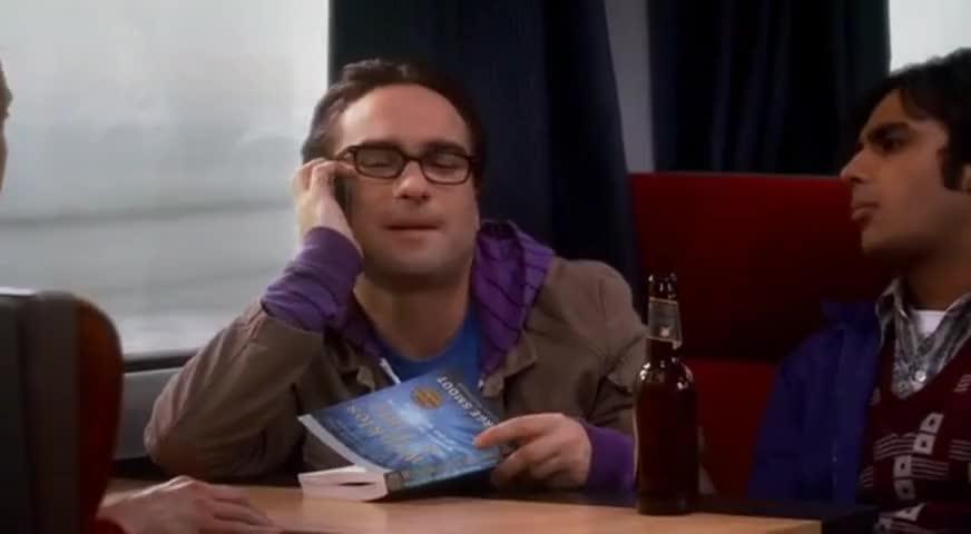 Hey, Leonard. How's the train ride?