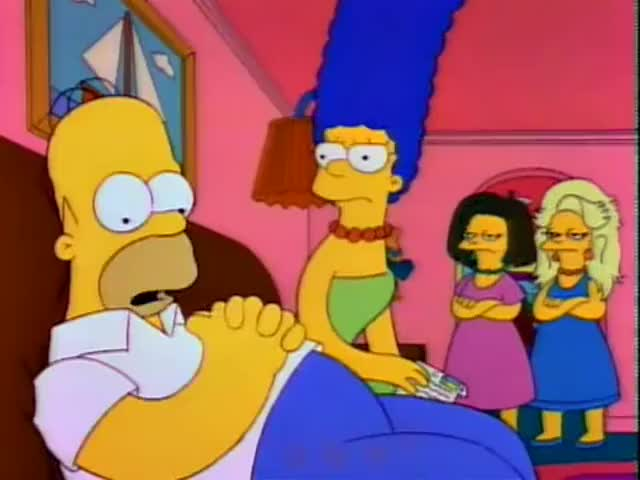- Hank...Jones. - Homer, you made that up.