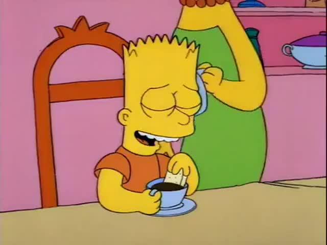 - Ha! Barber or clown? - Bart!