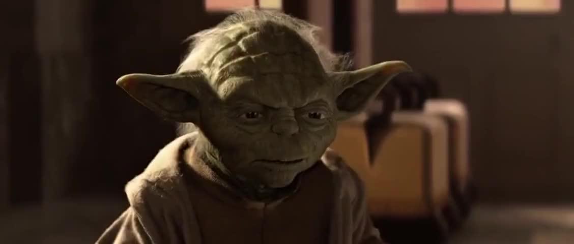 Yarn Master Yoda I Gave Qui Gon My Word Star Wars Episode I