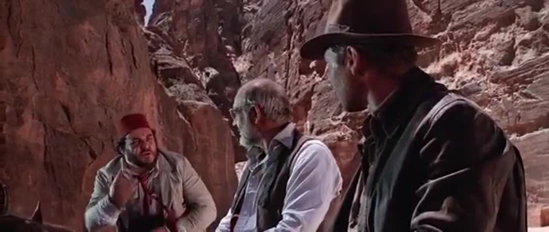 """Quiz for What line is next for """"Indiana Jones and the Last Crusade """"? screenshot"""