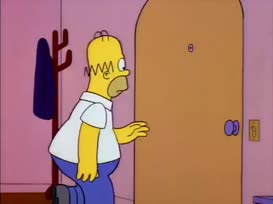 - Homer, give him what he wants! - [ Hammer Cocking ]
