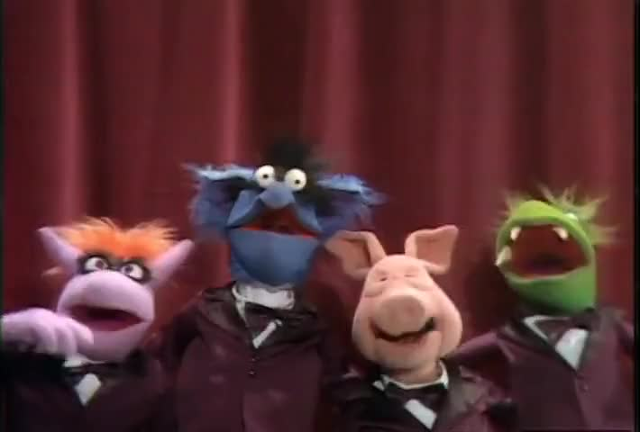 ♪ It's time to raise the curtain on The Muppet Show tonight