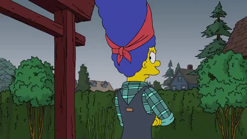 Marge, sweetie, I'm really proud of you.