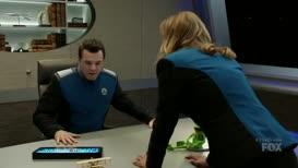 Captain, please report to the bridge.
