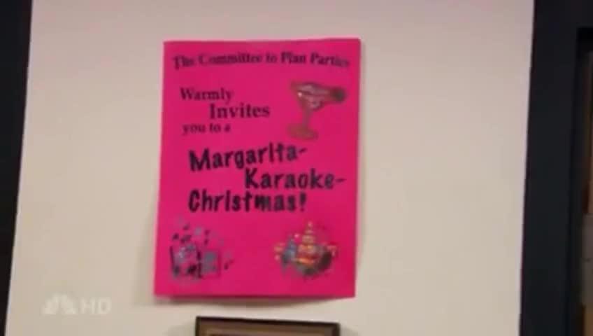 Yarn To A Margarita Karaoke Christmas The Office
