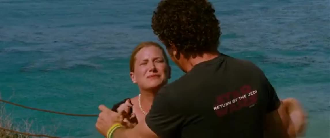 -Please don't leave me. -Oh' my God. Look at that whale.