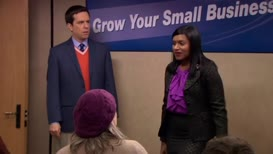 I'm Kelly Kapoor, the business bitch.
