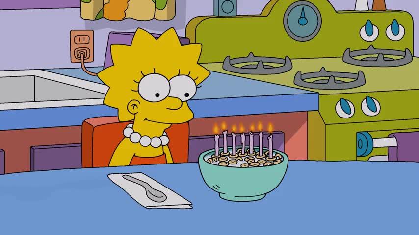 ♪ Happy birthday, dear Lisa ♪