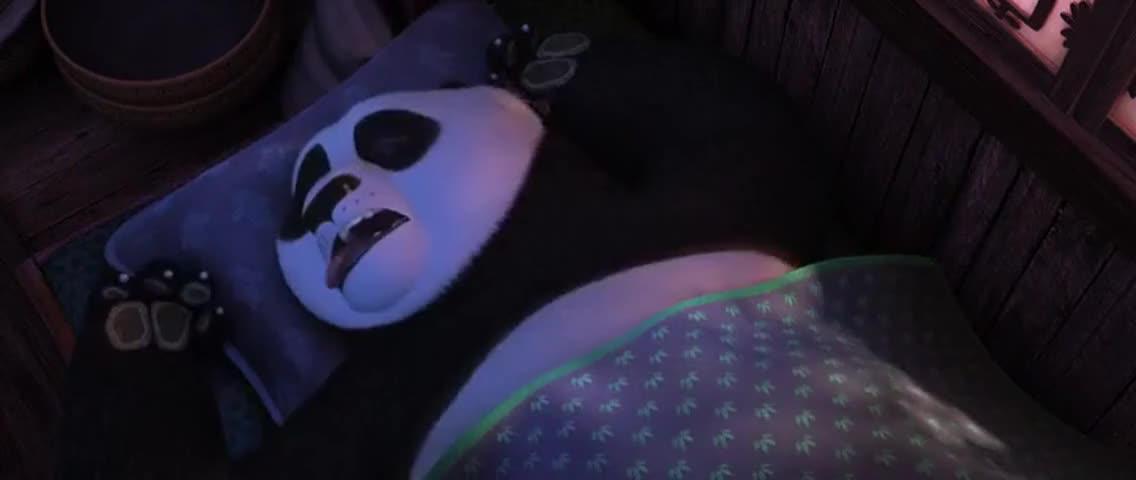 (SNORING)