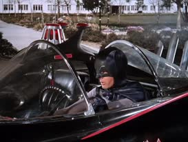 Rendezvous in Bat-cave at end of mission.