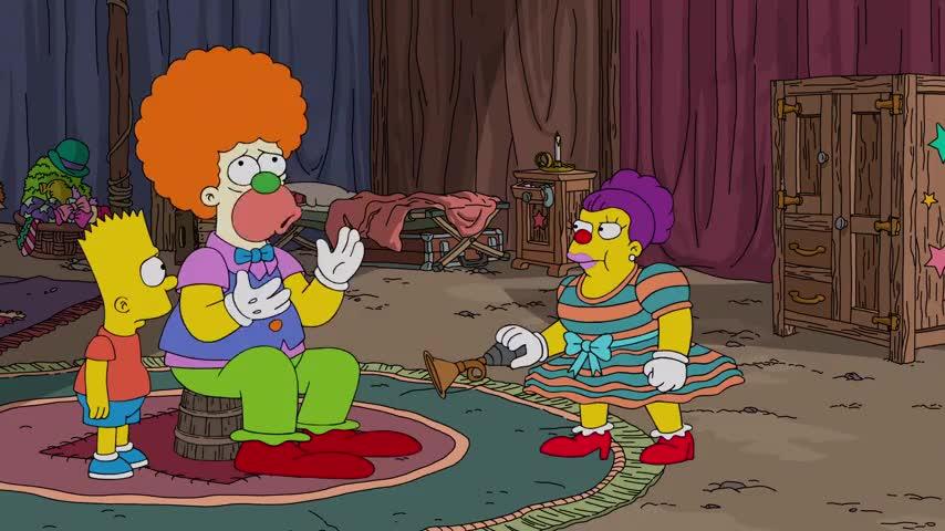 I'm a terrible clown. (cries)