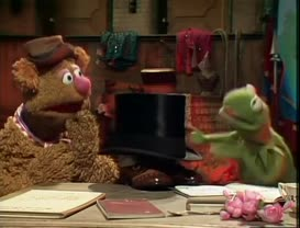 Take this guy and get outta here, Fozzie.