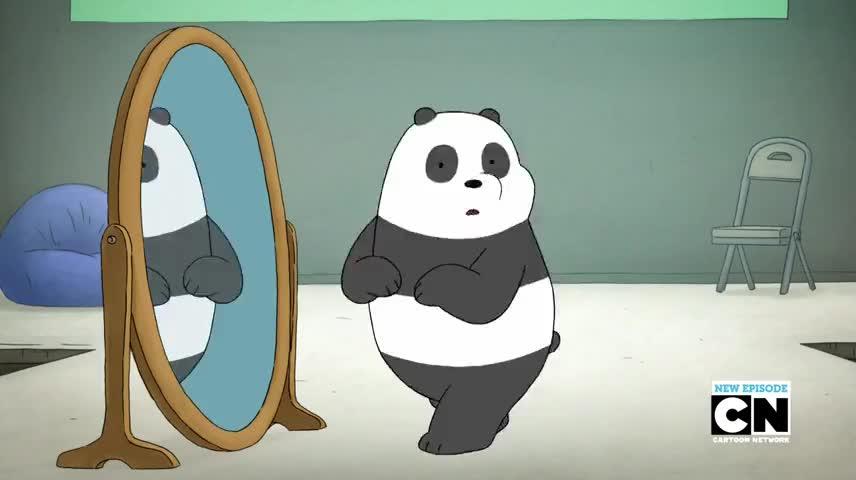 Aah! [Baby Panda sneeze]