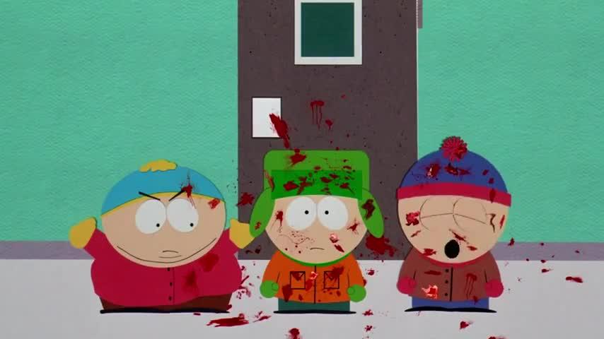 - Oh, my God, they killed Kenny! - You bastards!