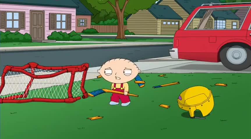 Stupid street hockey.