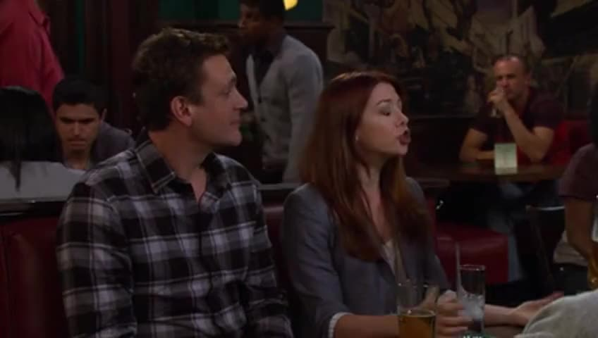 Barney, you're cheating on Nora already?