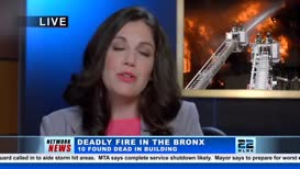 Ten people died in the Bronx last night due to a fire