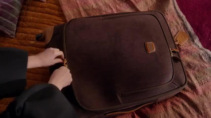 Oh, Russ's prescription luggage...