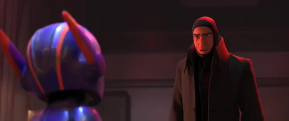 Give me the mask, Hiro.