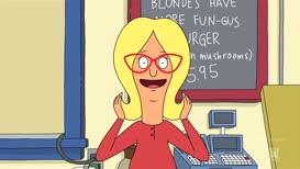 ♪ La-la, la, la, la, blonde... ♪
