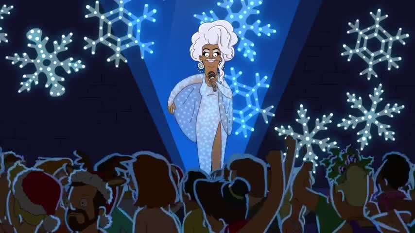 ♪ Twinkly lights, twinkly lights ♪