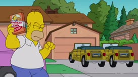Patty and Selma's car?! D'oh!