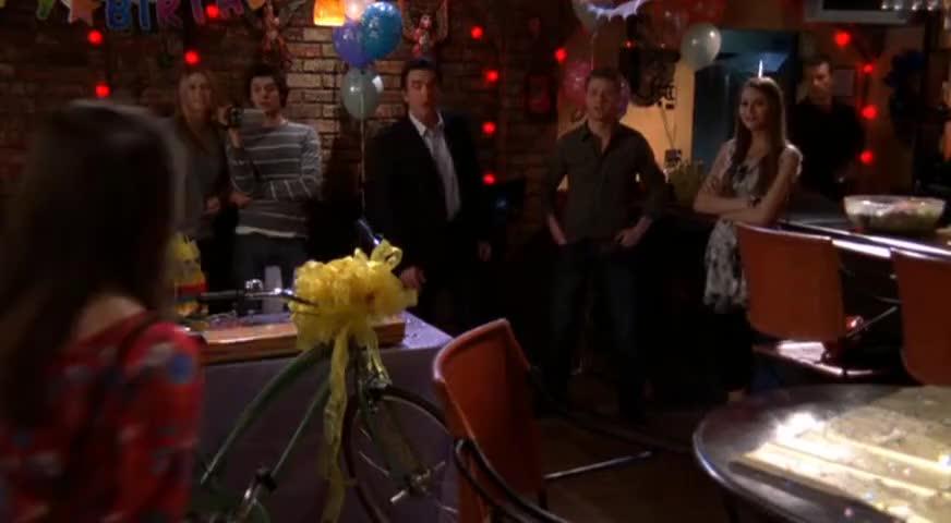 - Happy birthday. - Happy birthday.