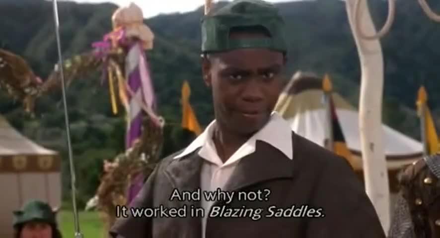 Yarn Lt Worked In Blazing Saddles Robin Hood Men In Tights