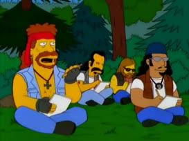 Uh, Miss Simpson, I killed my pencil.