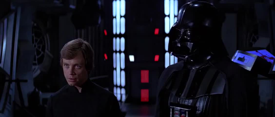 [Vader] It is pointless to resist, my son.