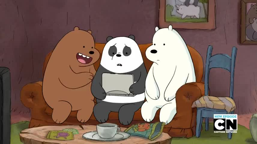 Ice Bear is proud of you.