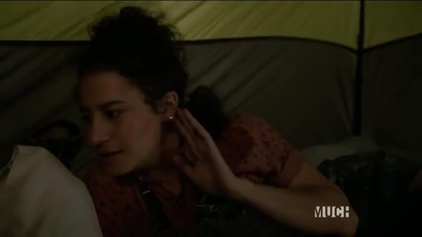 He's fingering her.