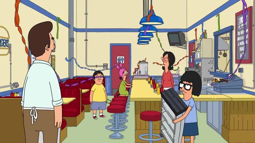- Tina, what happened? - Damn floss tape!