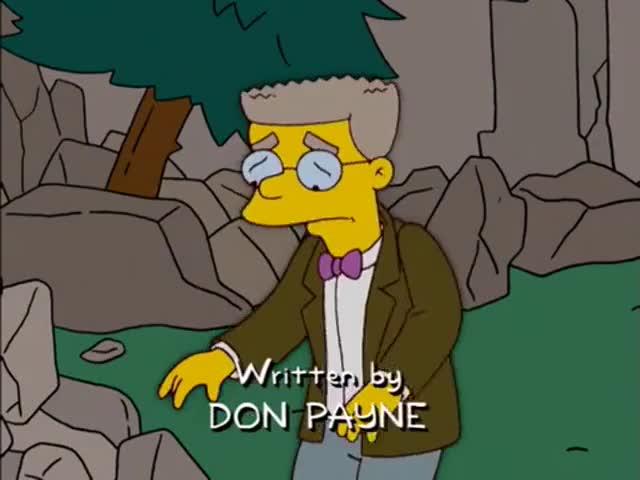 Mr. Burns is gone.