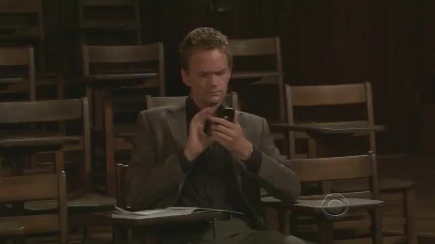 - Barney. - What? I'm tweeting about you.