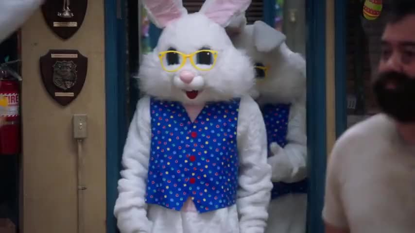 - Jake, who are those bunnies? - It must be Amy and Charles.